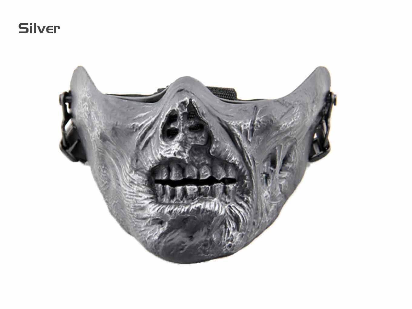 AOLS Face Mask Skeleton Ⅴ Half Face for Paintball & Airsoft