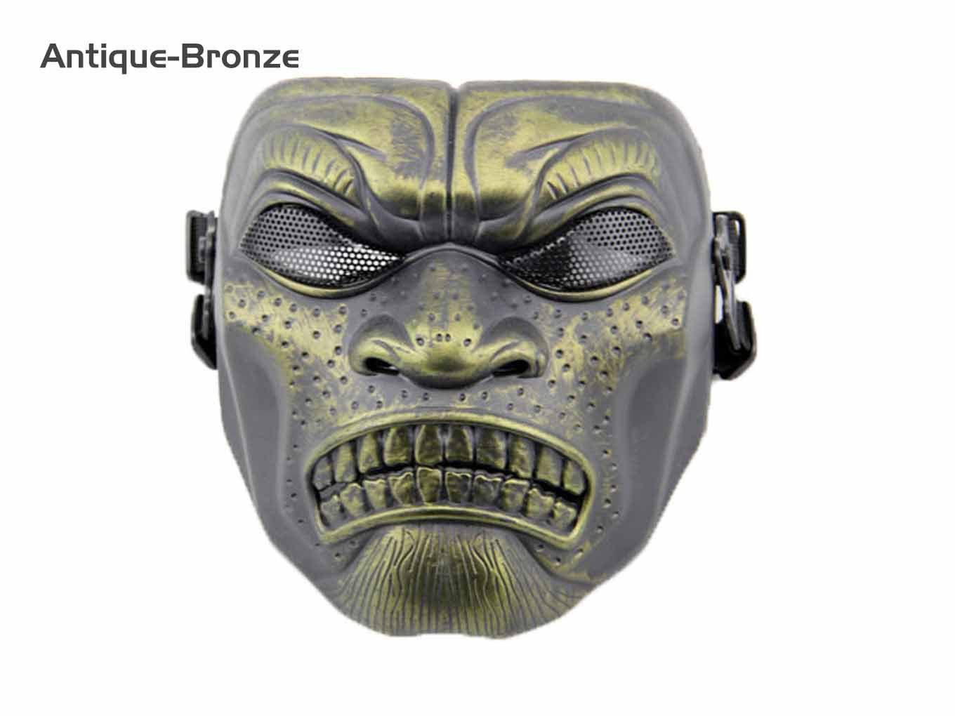AOLS Face Mask Spartan Full Face for Paintball & Airsoft