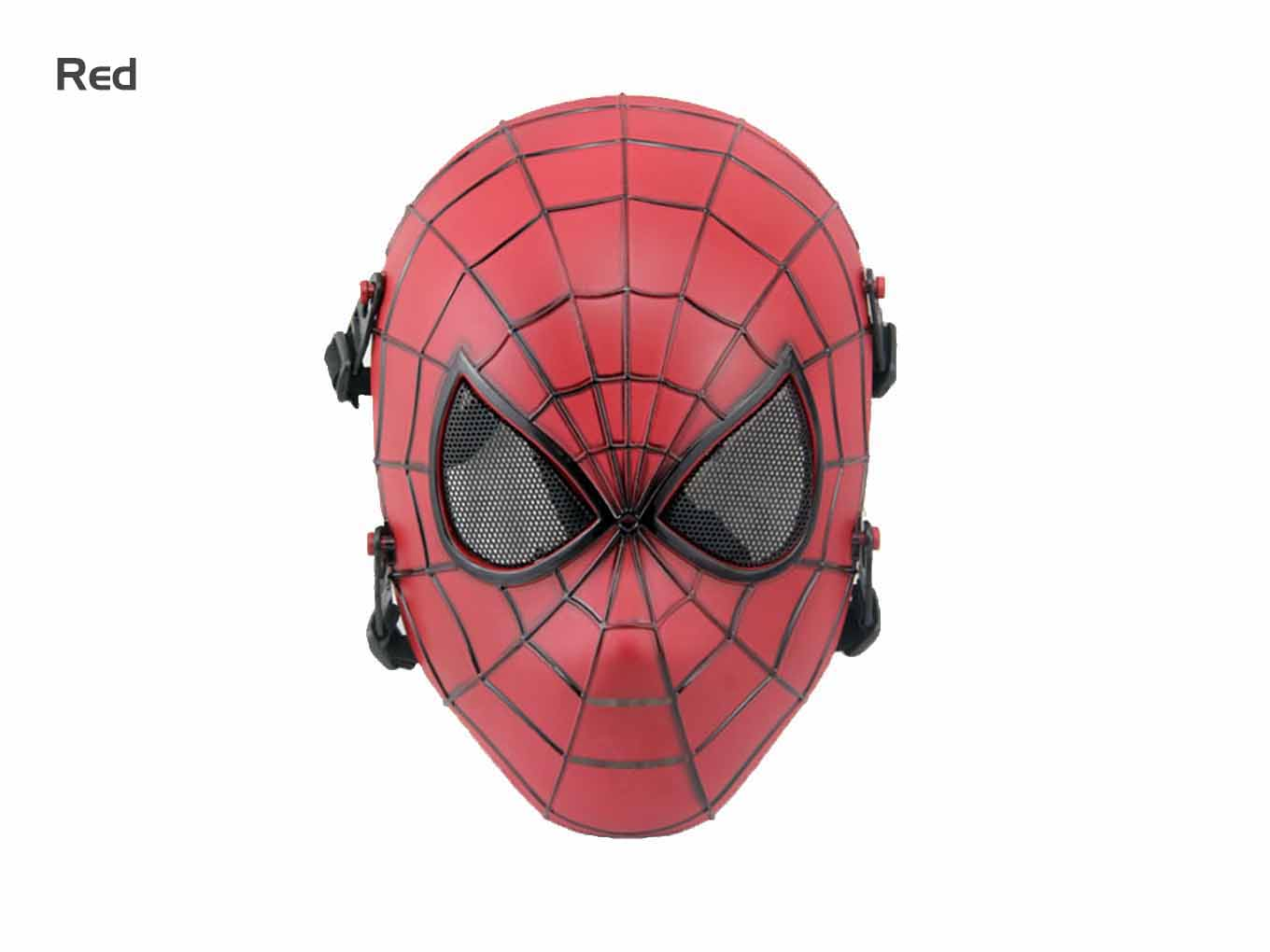 AOLS Face Mask Spiderman Full Face for Paintball & Airsoft